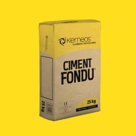 CIMENT FONDU RÉFRACTAIRE
